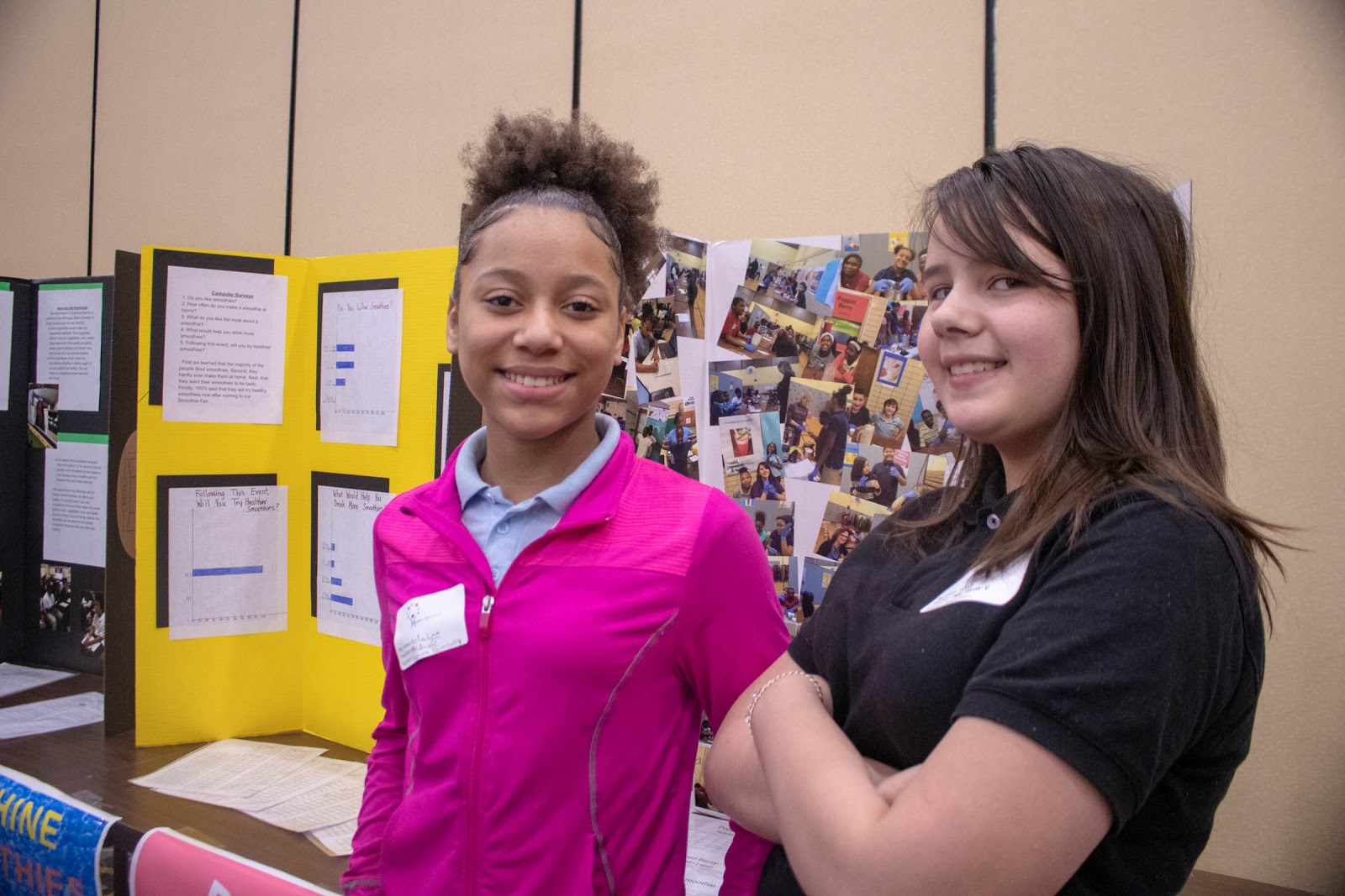 Students at health summit