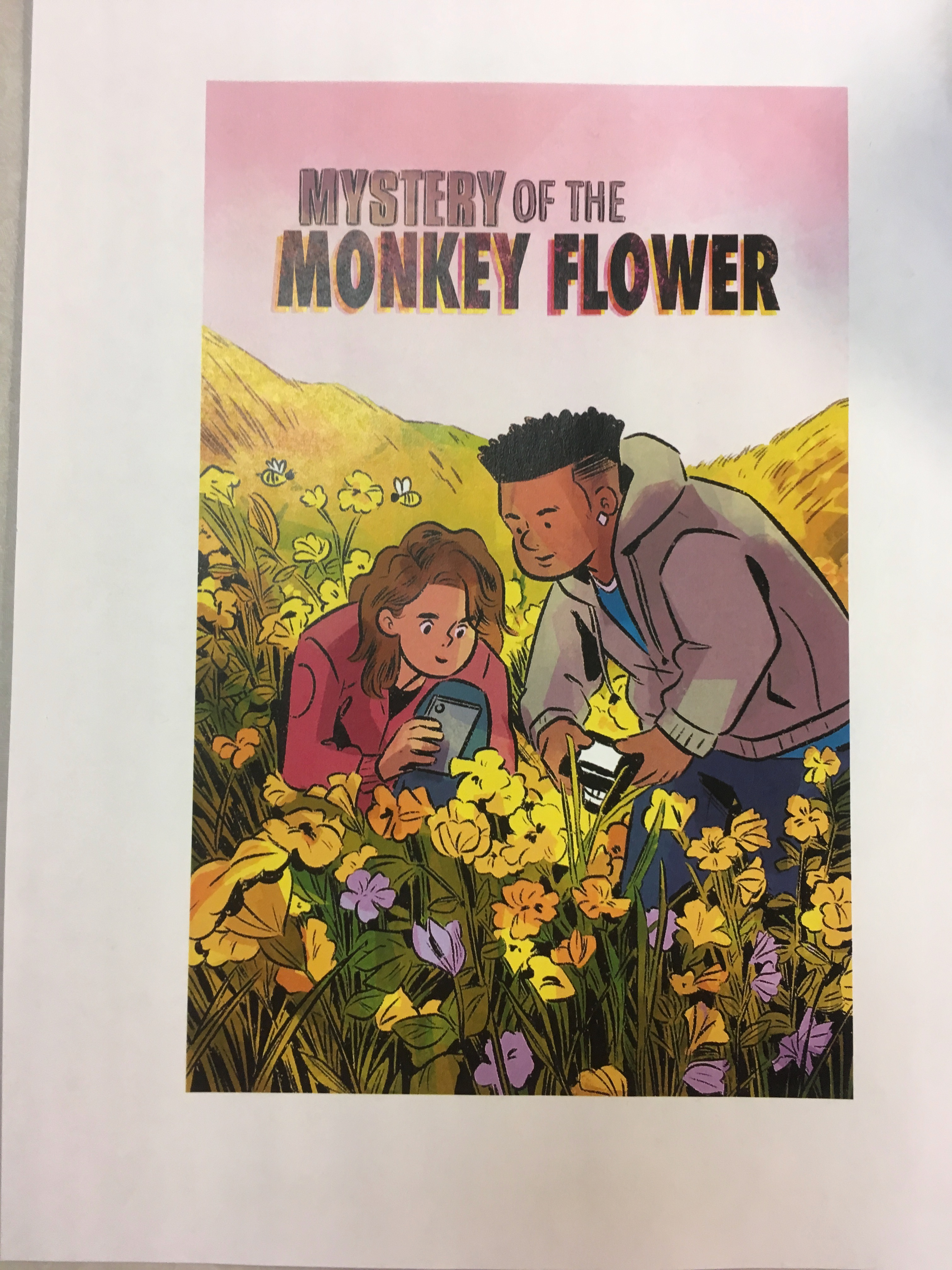Monkeyflower Comic